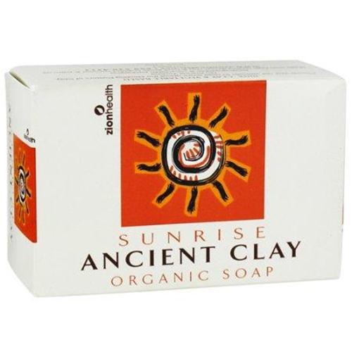 Zion health sunrisencient clay organic bar soap - 6 oz