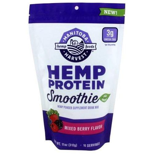Manitoba harvest hemp protein smoothie mixed berry flavor - 1 ea,11 oz