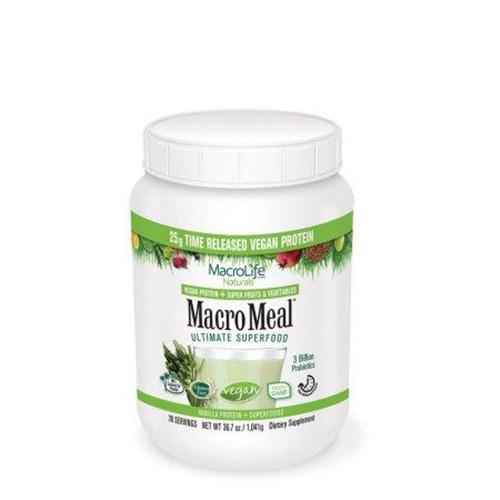 Macromeal vegan vanilla 28 serving - 40.5 oz
