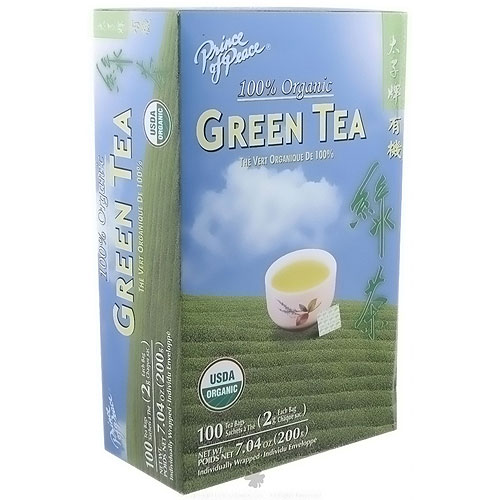 Prince of Peace 100 percent Organic Green Tea - 100 bags