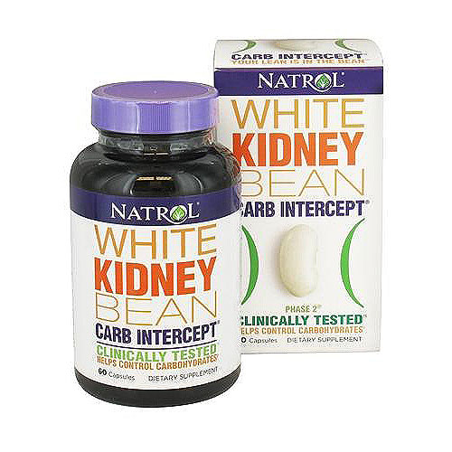 Natrol carb intercept with phase 2 starch neutralizer capsules - 60 ea