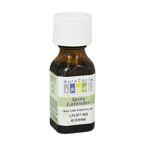 Aura Cacia pure essential oil activating spike lavender (lavandula latifolia), 0.5 oz