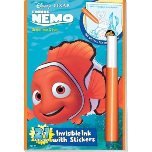 disney pixar finding nemo invisible ink with sticker - 3 ea