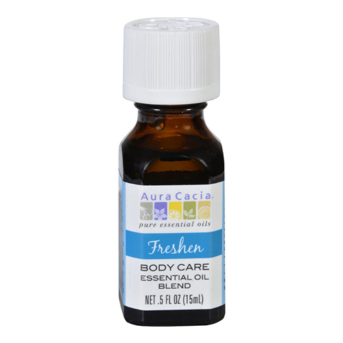Aura cacia body care essential oil blend indulge  -  0.5 oz