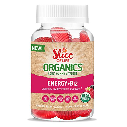 Slice of life organic energy boost b12 - 60 ea