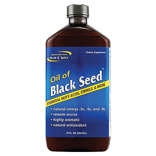 North American herb and spice black seed oil - 12 oz