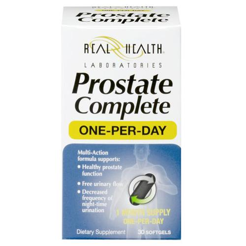 Real health laboratories the prostate formula with saw palmetto, tablets - 30 ea