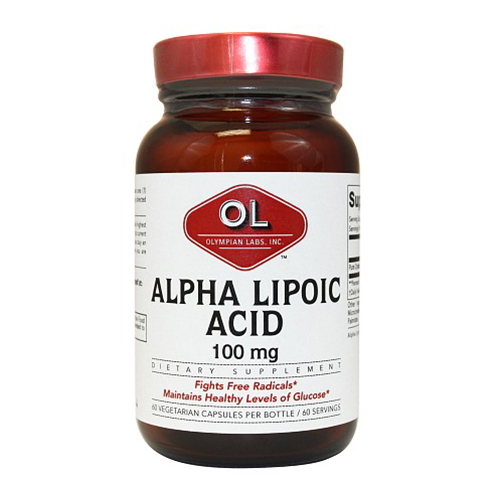 Olympian labs alpha lipolic acid dietary supplement - 60 ea