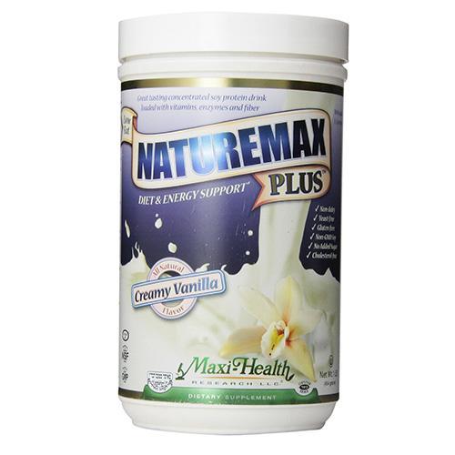Maxi health naturemax plus all natural creamy vanilla - 16 oz