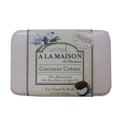 A la maison ultra moisturizing soap, coconut creme - 8.8 oz