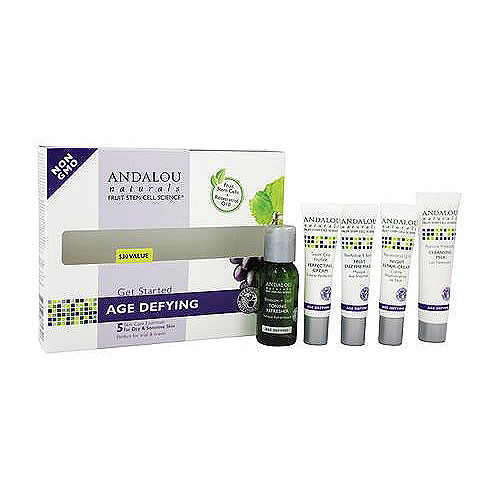 Andalou Naturals Get Started Age Defying Kit for Skin - 1 ea