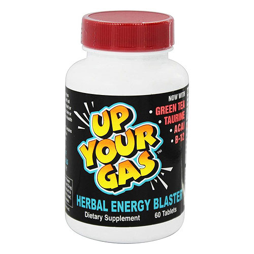 Hot Stuff Nutritionals Up Your Gas Herbal Energy Blaster Tablets - 60 ea